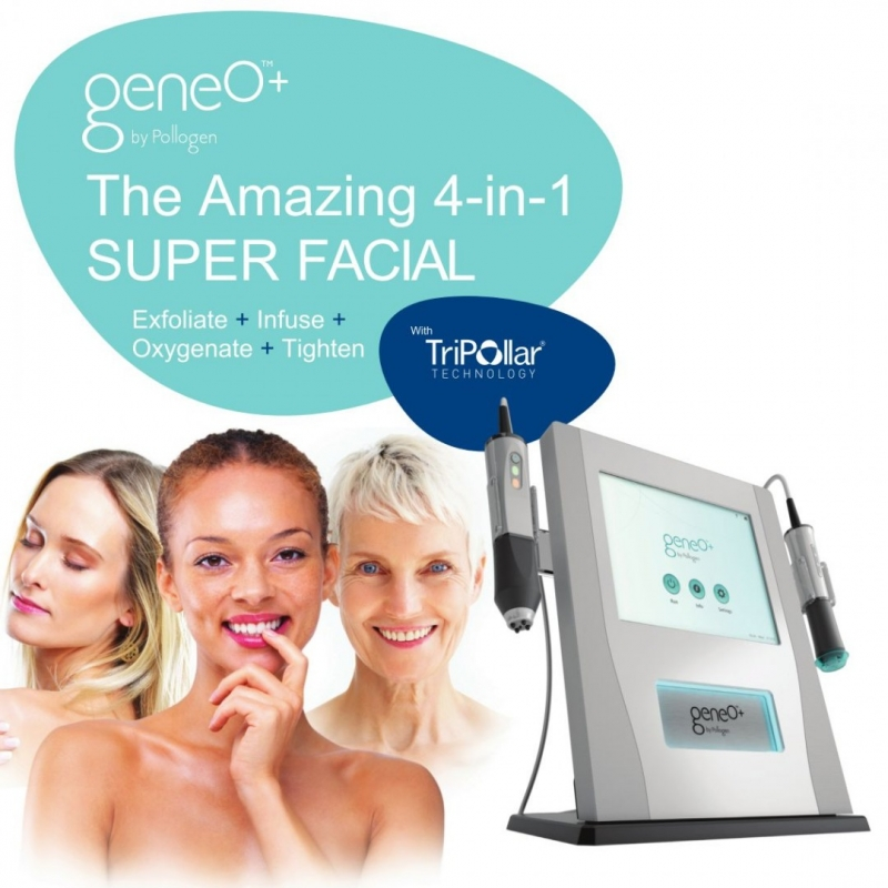 Quartz Arsthetics Geneo super  facial 4 in 1 treatment