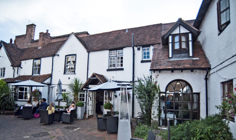 The George Hotel Wallingford Garden