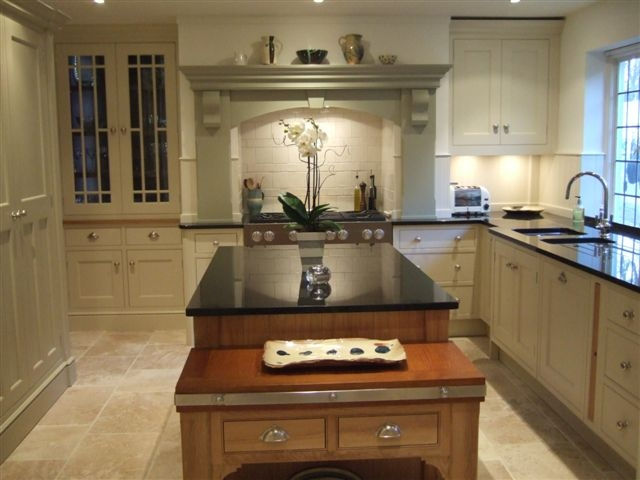 Woodwise Kitchens mahogany island