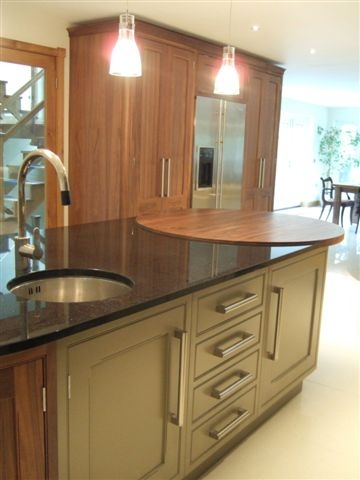 Woodwise Kitchens Olive and Pine