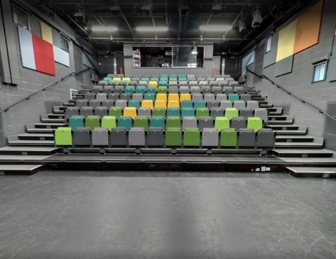 Pegasus Theatre Audience Seating Area