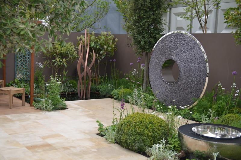 Susan Dunstall show garden 2013