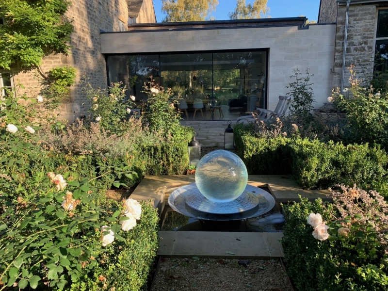 Susan Dunstall Secret Garden  Crystal Water Feature