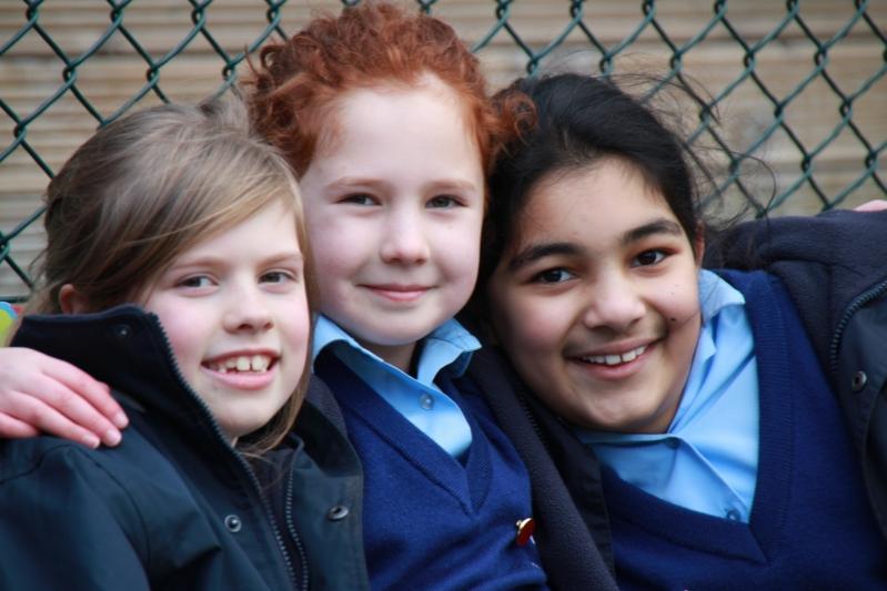 St Teresas School Reception and Pre School friends