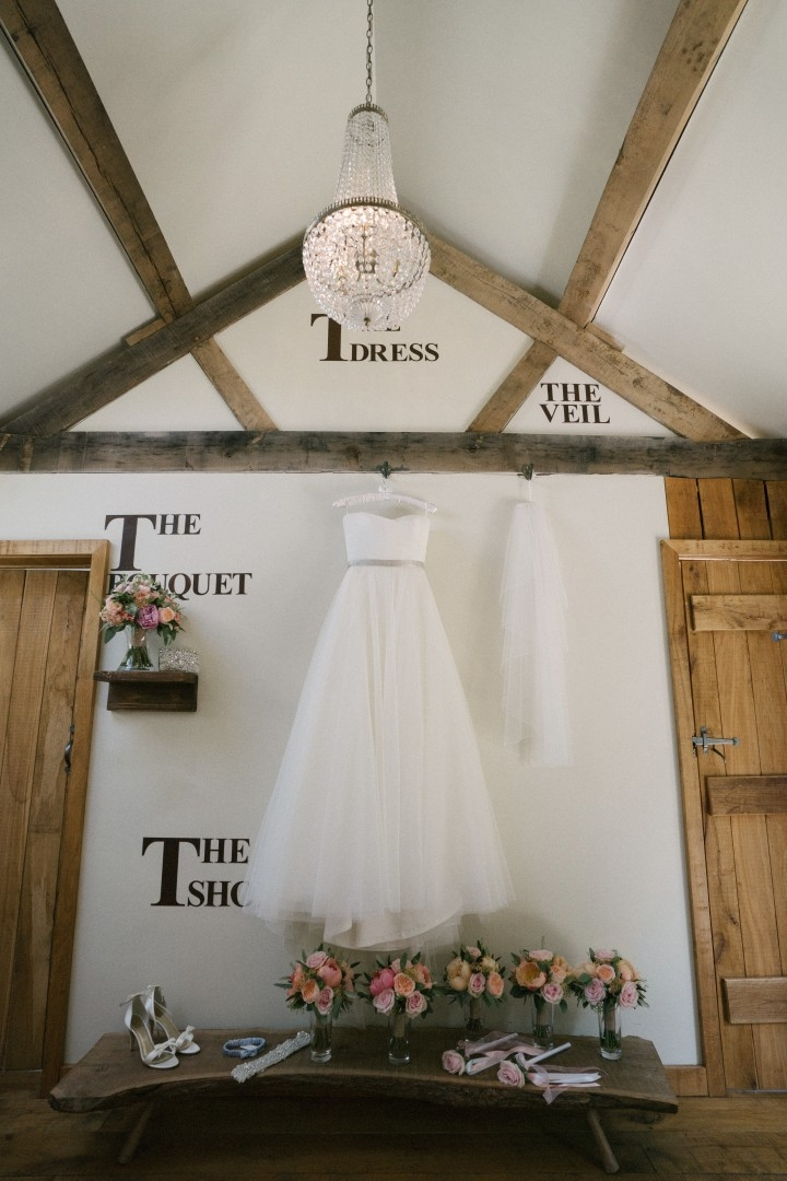 Tythe Barn Wedding Bridal Preparation area The Nook