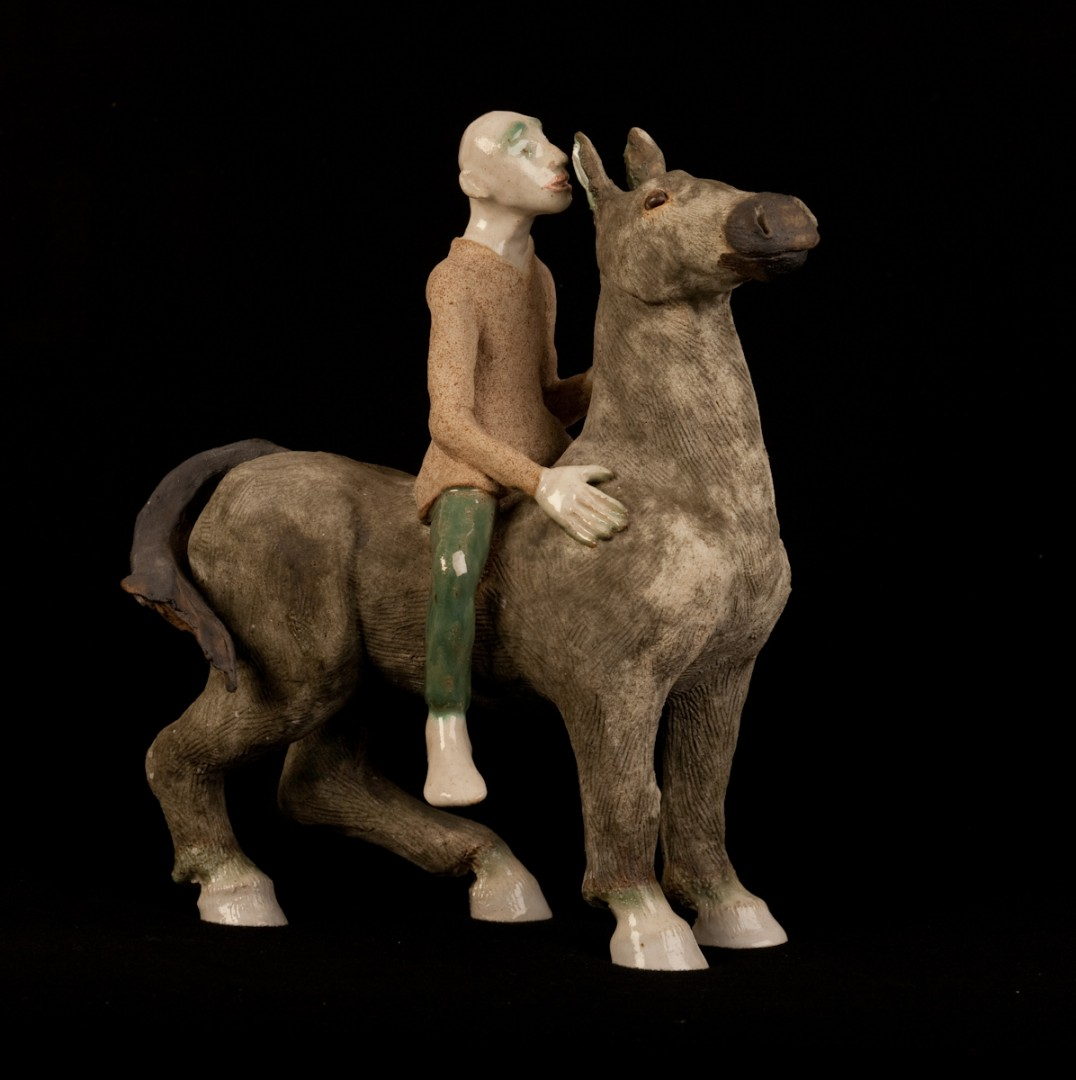 Shaping the Earth Horse and Rider Aline Stanway