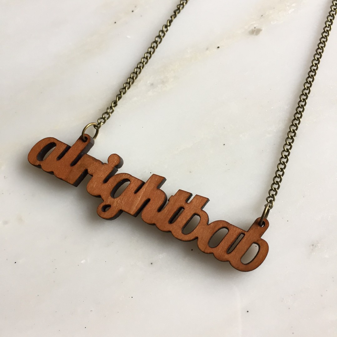 Working Class Aright Bab necklace