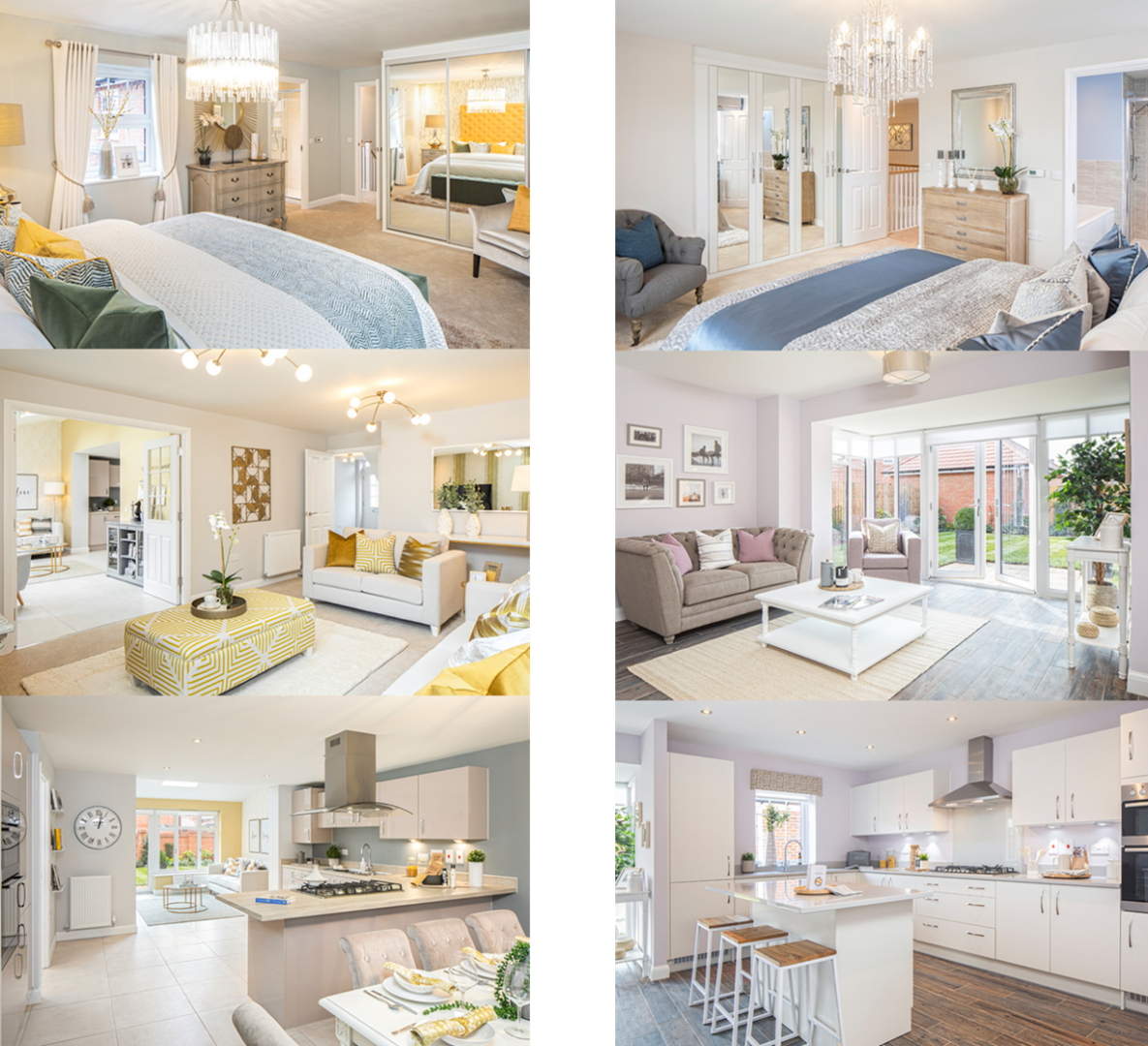 David Wilson Homes Cadleigh and Manning Show Home Images