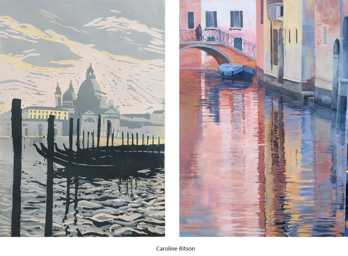 From Venetian Opulence Caroline Ritson Reflection Paintings