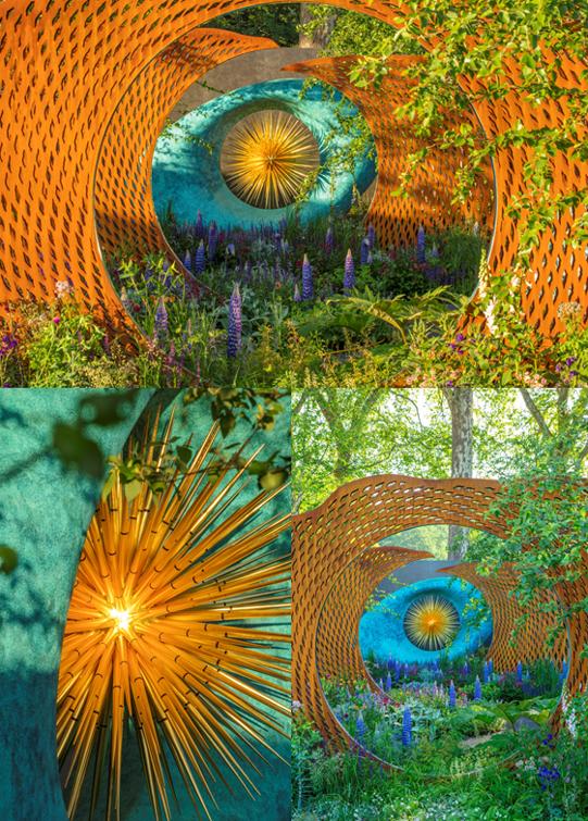 Drama Frustration Pain and Elation David Harber Chelse Flower Show Garden Plants