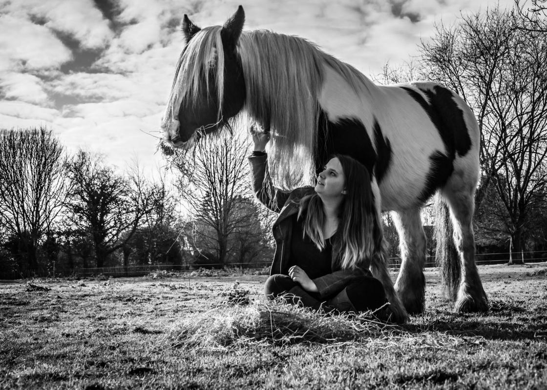 The World in Watlington Dee Robinson Horse Photo