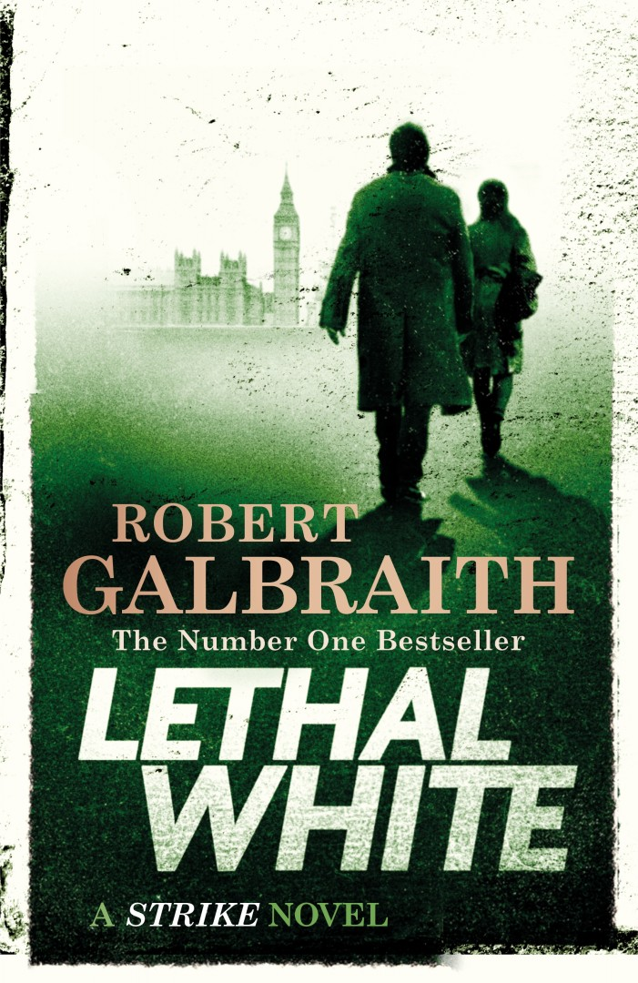 Pretend to be well read at dinner parties Lethal White Robert Galbraith Sphere